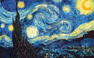 """The Starry Night""Vincent van Gogh"