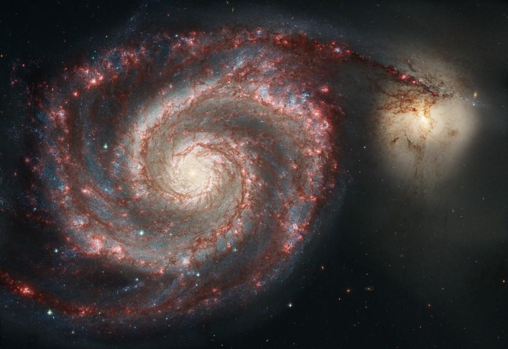 Whirlpool galaxy (NASA)