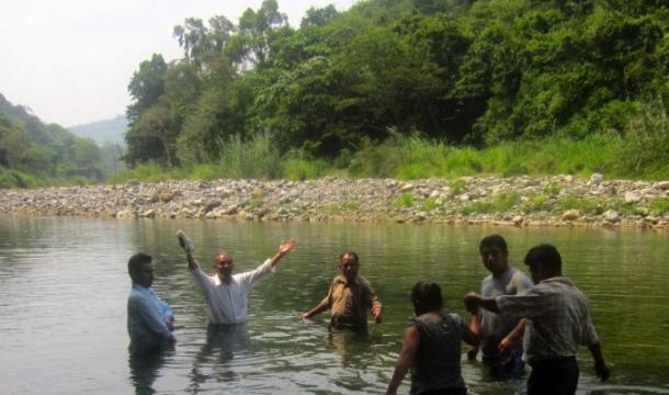 baptism of new believers