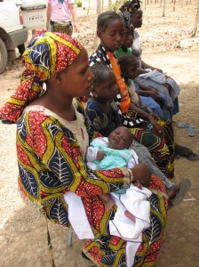 Family awaits medical attention in Mali
