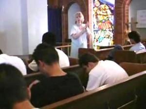 Jozy preaches in prison
