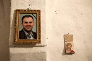 Gabriel Staifo Malke's father, pictured, was killed in Syria in July 2012. Photo: Saima Altunkaya for World Watch Monitor