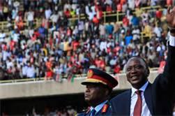 President of Kenya, Uhuru Kenyatta
