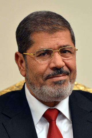 President Morsi before the coup