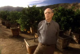 Bob with his trees