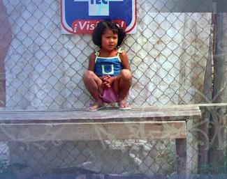 Girl at risk in Tijuana
