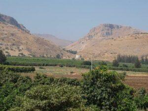 Ginosar valley in Israel (photo Dr. Ken Dark/NBC News)