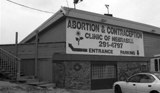 Abortion clinic in Nebraska, 2010