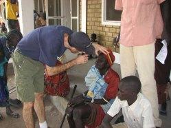 Serving at Akot Medical Mission
