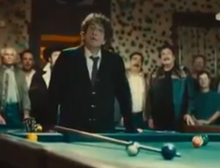 In pool hall