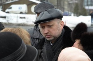 Acting President Turchynov (Source: Baptist Press)