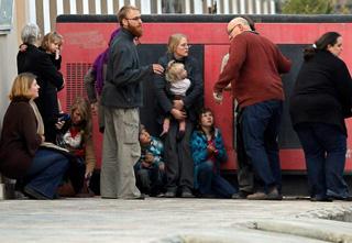 Children rescued after attack