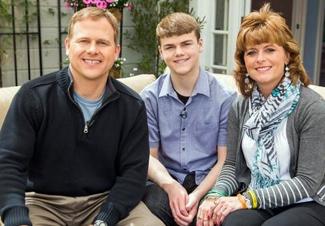 Todd and Sonja Burpo with son Colton