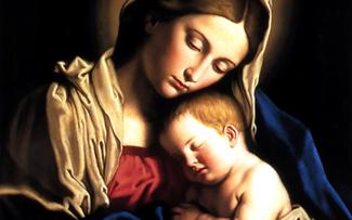 """Madonna and Child"" by Sassoferrato"