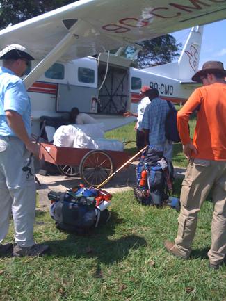 Loading Cessna Caravan