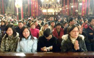 Christian congregation in China