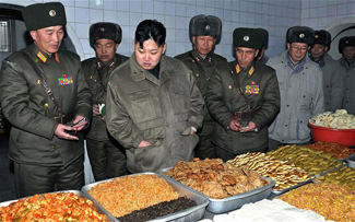 Government leaders and the military receive priority for food, while others suffer