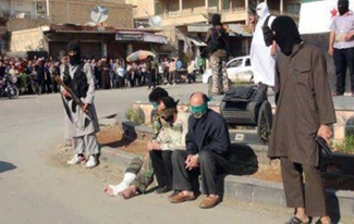ISIS prepares to execute members of minority religious group