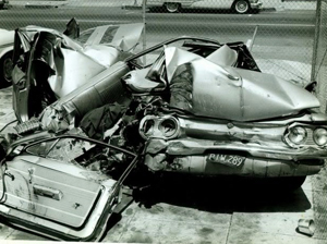 """Ralph Nader labeled the Corvair """"unsafe at any speed"""""""