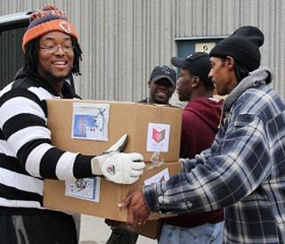 Agape Center Boxes of Love outreach