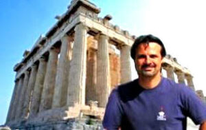 Johnathan Macris, President of Hellenic Ministries, headquartered in Athens, Greece