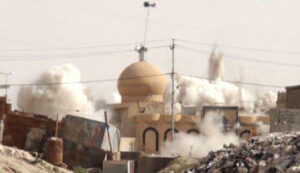 A total of six mosques across the northern Nineveh province of Iraq have been destroyed by ISIS forces (photo FoxNews.com)