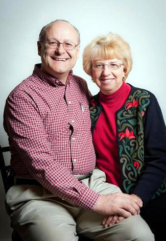 Nancy Writebol and her husband David