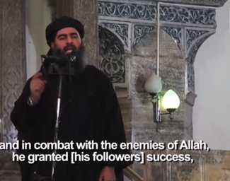 ISIS leader preaches in mosque