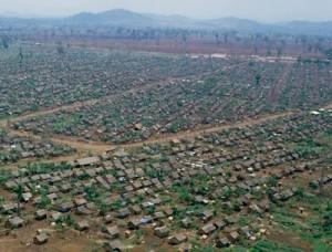 Khao-I-Dang refugee camp once held 160,000 refugees