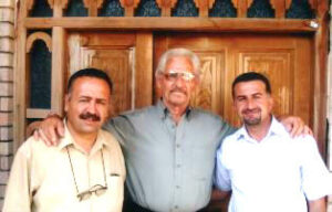 Norm Nelson with pastors of Mosul