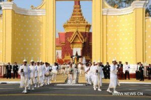Palace in Phnom Penh, 2013, after death of King Sihanouk