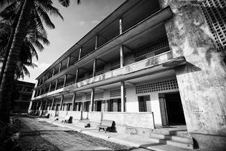 A former high school became S-21 prison