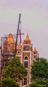 Like many others, this Qiaosi Sunday Church in Hanzhou, China had its cross removed recently (Photo: China Aid)
