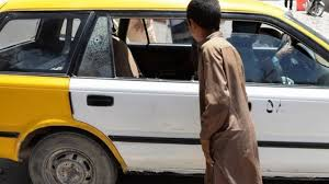 2 Christian aid workers shot in this taxi cab in Afghanistan
