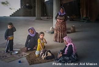 Christian Aid refugees