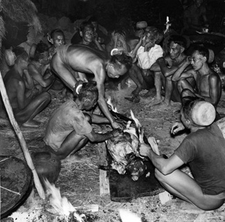 Palawano men in the 1950s