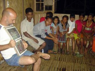 Teaching Palawano group