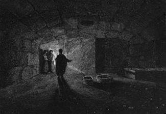 Artist's rendering of Mamertine Prison