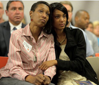 D'Alita Miller and daughter Simone, were both victims of sex trafficking (O.C. Register)