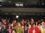 Evangelizing in Asia with souls accepting Christ