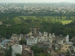 A view of Chennai, India from Thomas Mount where the Apostle Thomas was martyred