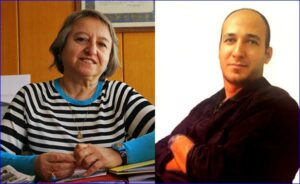 Left, Canan Arin, lawyer arrested in Turkey; and Right, Mohsen Amir Aslani,  hanged Iranian psychologist
