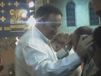 Alan praying