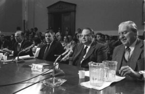 Hunt brothers testify before Congress, 1980