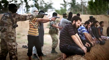 ISIS videotapes their own war atrocities