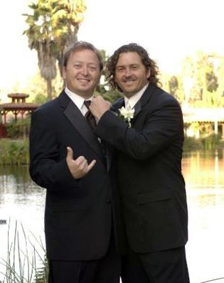Mike (left) and Joey