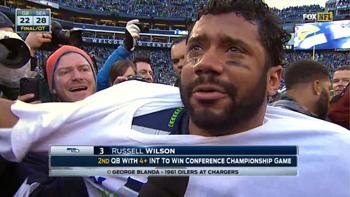 Wilson, in tears, after amazing win