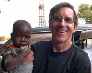 Ravensberg on a mission trip to Zambia