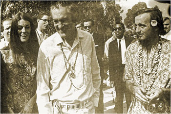 Timothy Leary in Laguna Beach