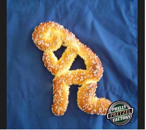 The Tim Tebow pretzel